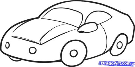 How To Draw A Car For Kids Step By Step Cars For Kids
