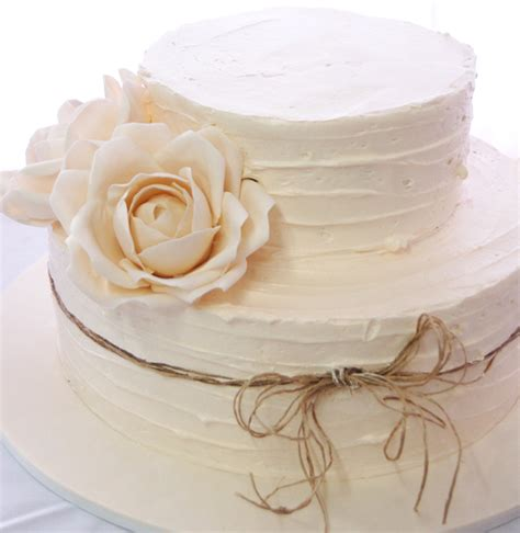 Le Nouvel Wedding Cake Jakarta by 96 Simple Two Tier Wedding Cake Buttercream White