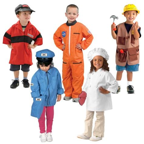 dramatic play costumes set of 5