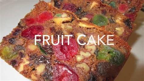 a fruitcake fruit cake how to make fruitcake recipe