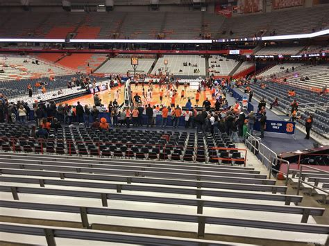 dome section carrier dome section 113 syracuse basketball
