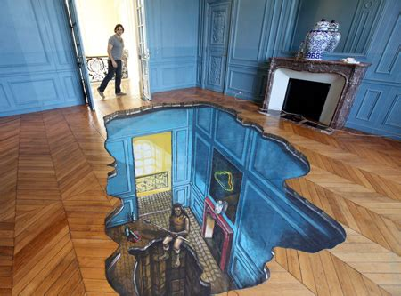 3d bathroom floor painting 3d street paintings