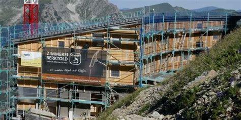 waltenberger haus ersatzbau waltenberger haus allg 228 uer alpen bauarbeiten