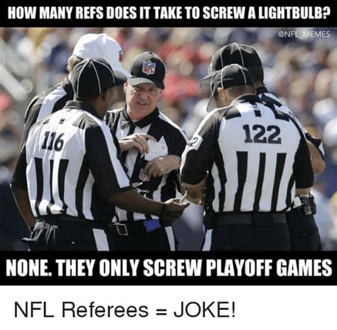 Nfl Ref Meme - 25 best memes about referee jokes referee jokes memes