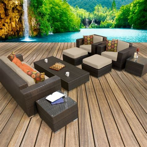 luxury outdoor patio furniture 17 fancy outdoor patios for your utmost relaxation top