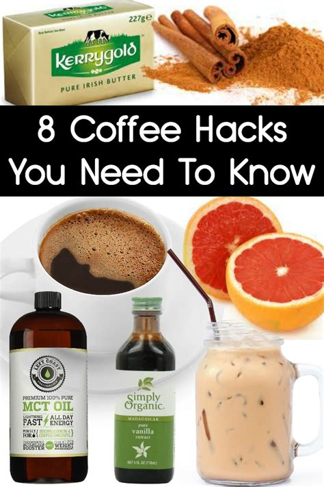 coffee hacks 8 coffee hacks you need to know