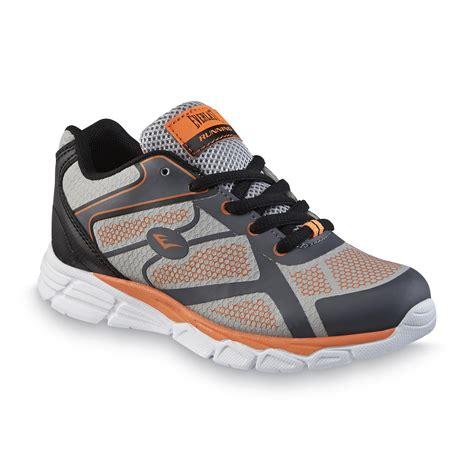 Ardilez Marendaz Orange Grey Running Shoes everlast 174 boy s crestmont gray orange running shoe shop your way shopping earn