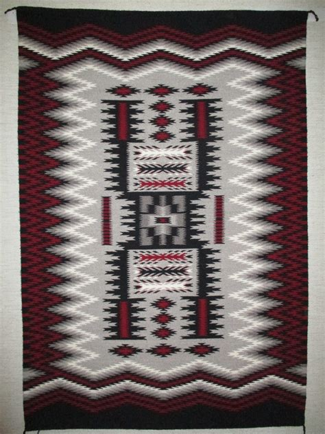 rug weaving patterns pattern weaving by louise yazzie larger size two grey
