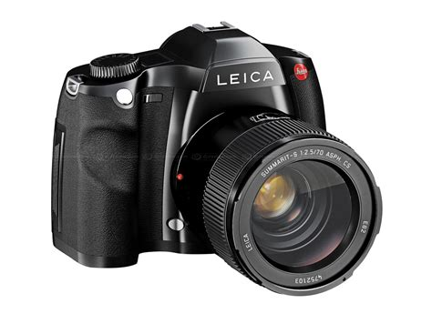 Kamera Dslr Leica S2 leica s2 with 56 larger sensor than frame digital photography review