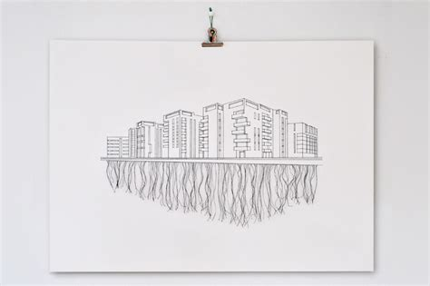 peter crawley stitched illustrations