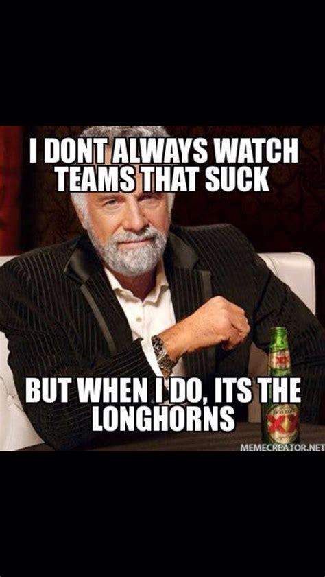 Texas Longhorn Memes - i hate longhorns sports pinterest