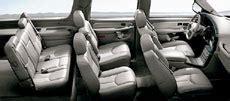 suburban third row seat legroom gmc yukon xl denali 2004 car talk