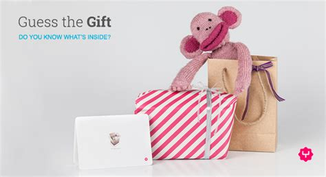 Guess Gift Cards - guess the gift and win what s inside