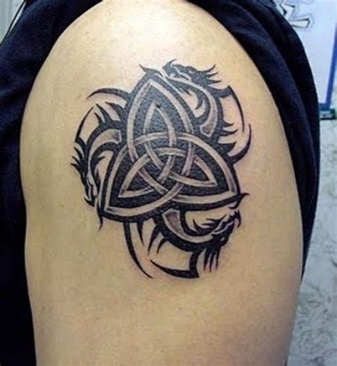 celtic dragon tattoo 53 attractive celtic knot tattoos for your shoulder