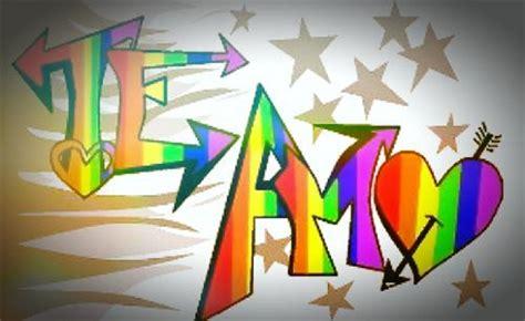 imagenes k digan te amo en graffiti graffitis de te amo arte con graffiti