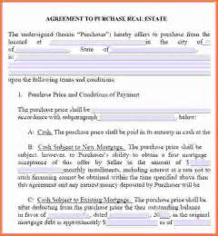 7 free printable real estate purchase agreement sales