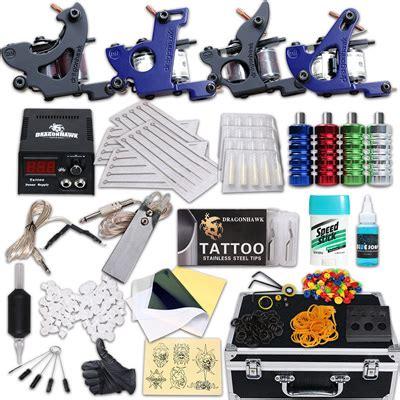 tattoo kit warehouse 100 4 guns tattoo kits 4 professional 4 gun tattoo