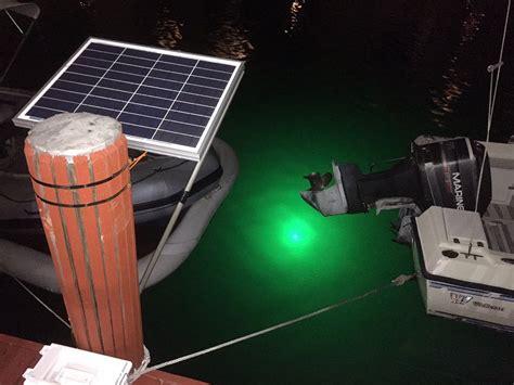 boat battery underwater 30w underwater fishing led light 12 24v