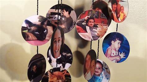 mobile foto diy m 243 bile de cds fotos mobile cd with photos