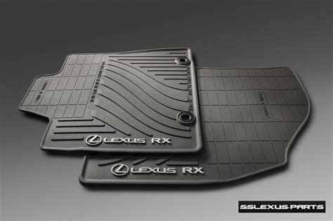 Lexus Oem Floor Mats - lexus rx350 rx450h 2013 2015 all weather floor mats oem