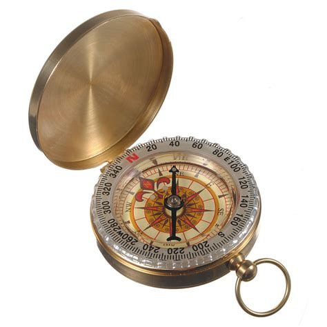 Kompas Magnet Navigasi Compass Survival Navigation outdoor cing hiking compass brass survival pocket