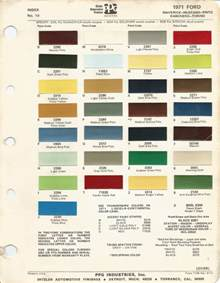 ford paint colors ford mustang factory paint colors