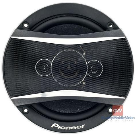 best pioneer car speakers pioneer ts a1686r 6 1 2 inch car speakers