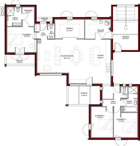 Plan Maison Plain Pied Gratuit 3207 by Plans De Maisons Igc Construction