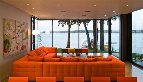 orange themed living room orange living room interior design ideas orange living room