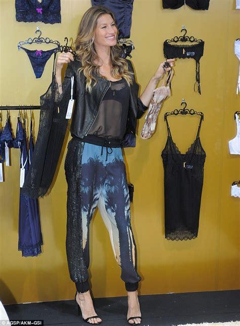 Gisele Hangs Up Wings by Gisele Bundchen Shows The Best Way To Wear