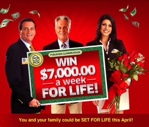 Pch 5000 A Week For Life Entry - no excuses just enter to win pch blog