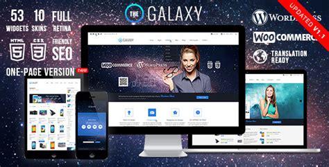 wordpress themes galaxy the galaxy wp themeforest responsive multi purpose theme