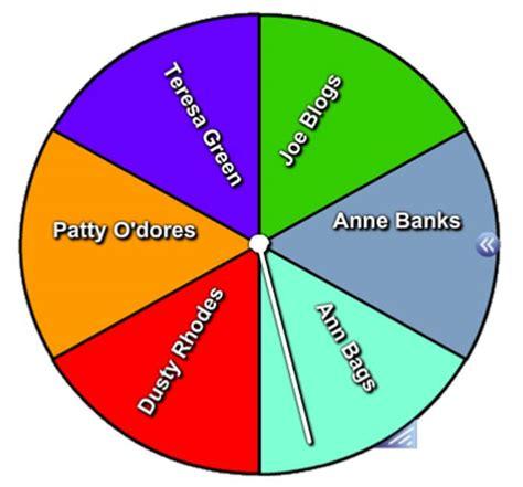 Spiner Random lesson activity toolkit tip of the week 1 using the random random name spinner all