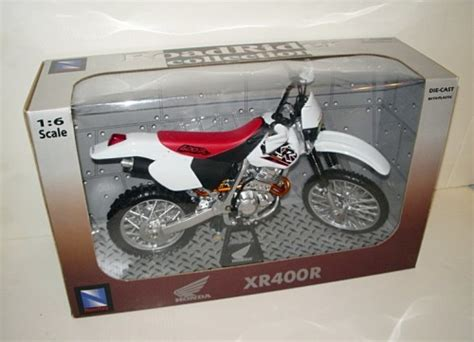 Wood Collection Motor Rider 1 6 scale honda xr400r motorcycle diecast road rider collection brg amusements collectables