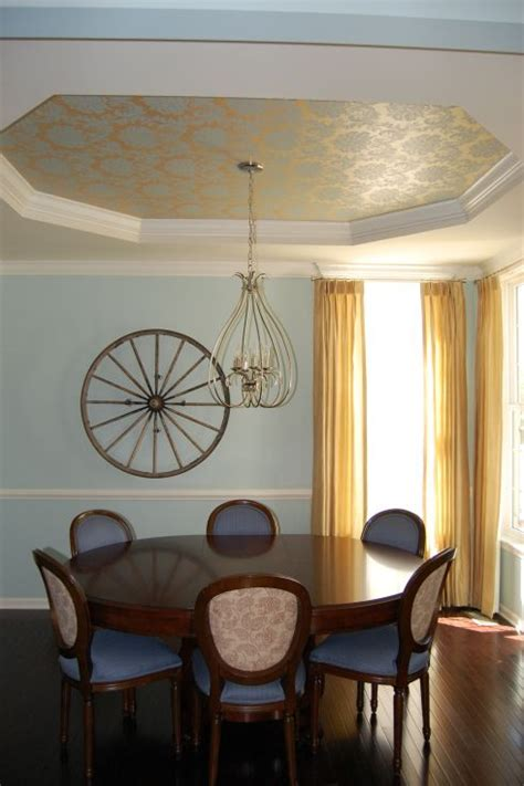 pinterest wallpaper ceiling color scheme wallpaper accent tray ceiling gold accents