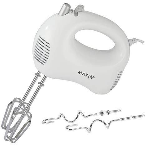maxim kitchenpro  hand mixer electric whipperstrip
