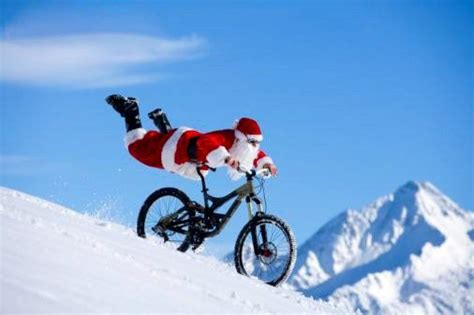 imagenes de santa claus en bicicleta foto weihnachtsmann mtb news de