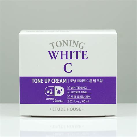 etude house toning white c tone up review