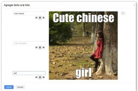 Meme Google Plus - as 237 funciona kit creativo el editor de fotos online de