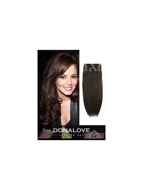 Medium Chocolate Brown Hair Extensions Remy Indian Hair Medium Reddish Brown Indian Remy Clip In Hair Extensions Sd006 Clip In Donalovehair