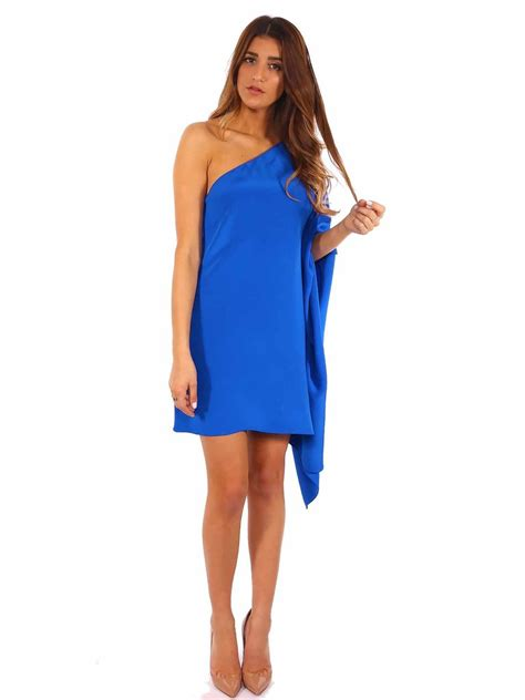 One Shoulder Sabrina Dress pre owned godfrey exclusive paradis silk jersey one
