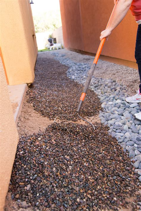 Diy Backyard Drainage Solutions by A Diy Yard Drainage Solution That Looks Great Yard Drainage Pea Gravel And Yards