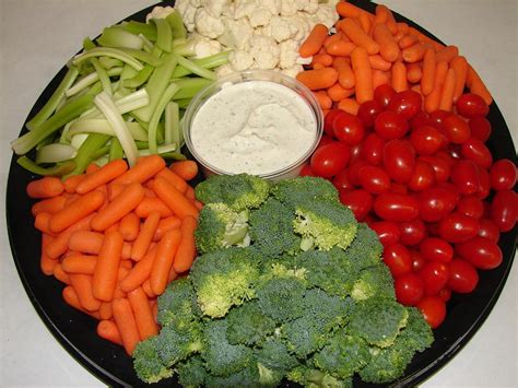small veggie tray