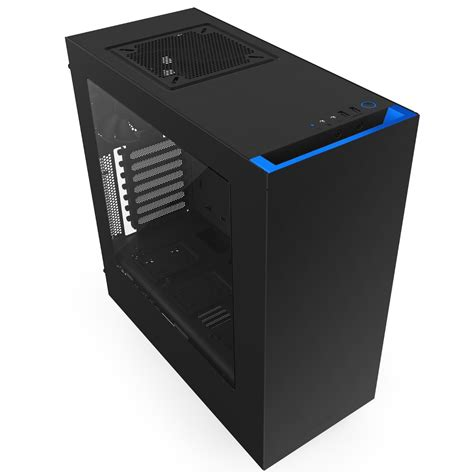 nzxt s340 case fans nzxt mid tower gaming case s340