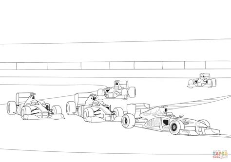 formula  racing coloring page  printable coloring pages