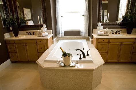 Wide Soaking Tub 24 Luxury Master Bathroom Designs With Centered Soaking Tubs