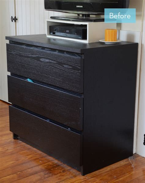 ikea dresser hack malm before and after a caign style ikea malm hack 187 curbly