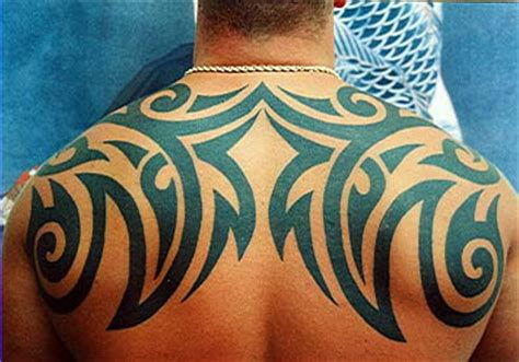 tattoo back man tribal tribal tattoos for men and women