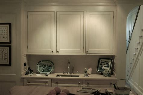 hand painted cabinets traditional kitchen dc metro