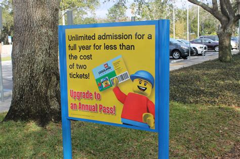 theme park yearly pass legoland florida amusement park